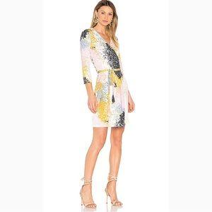 100% Silk New Julian II Dress Stella Fresco Rock